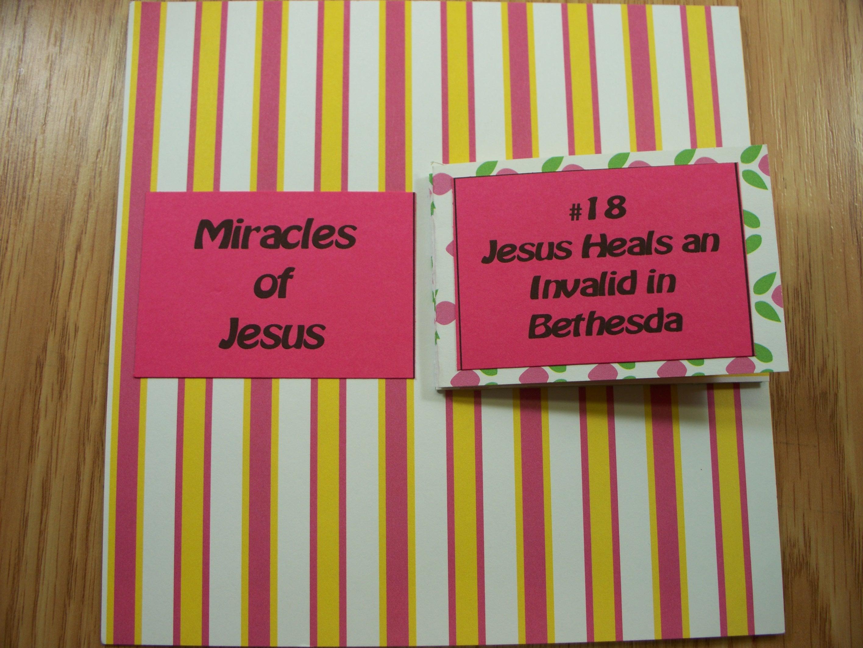 #18 Jesus Heals An Invalid In Bethesda