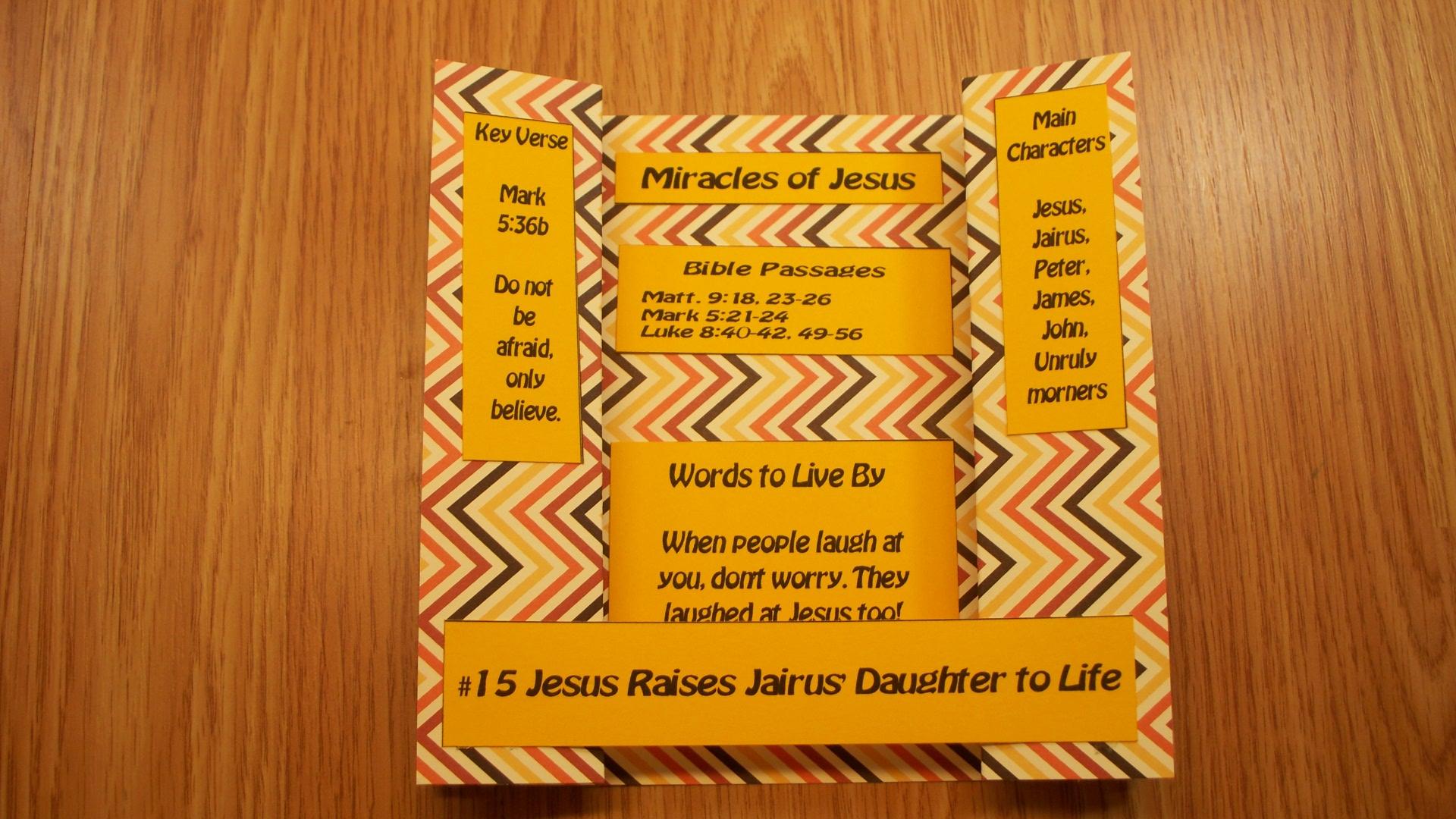 #15 Jesus Raises Jarius Daughter To Life