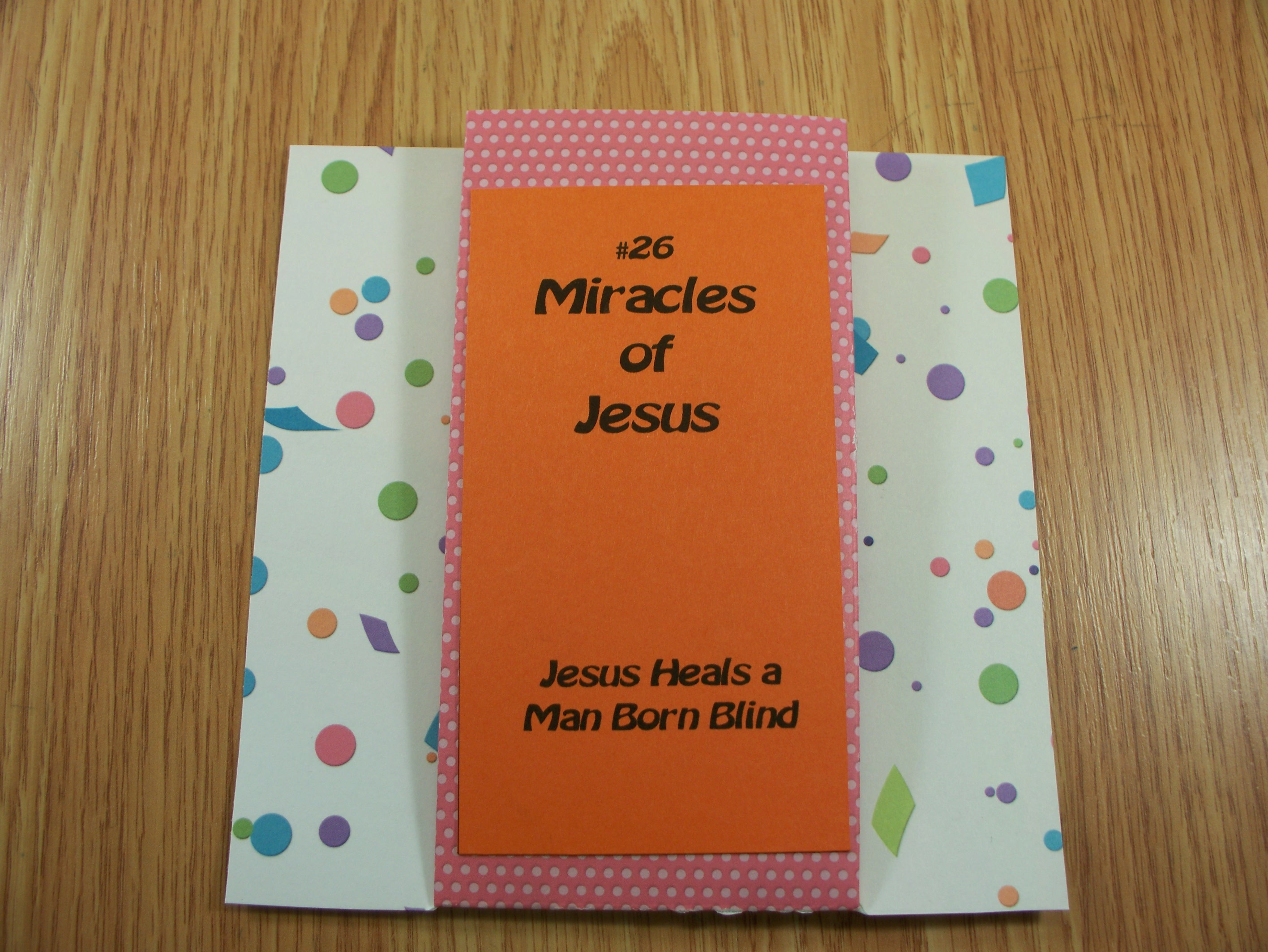 #26  Jesus Heals A Man Born Blind