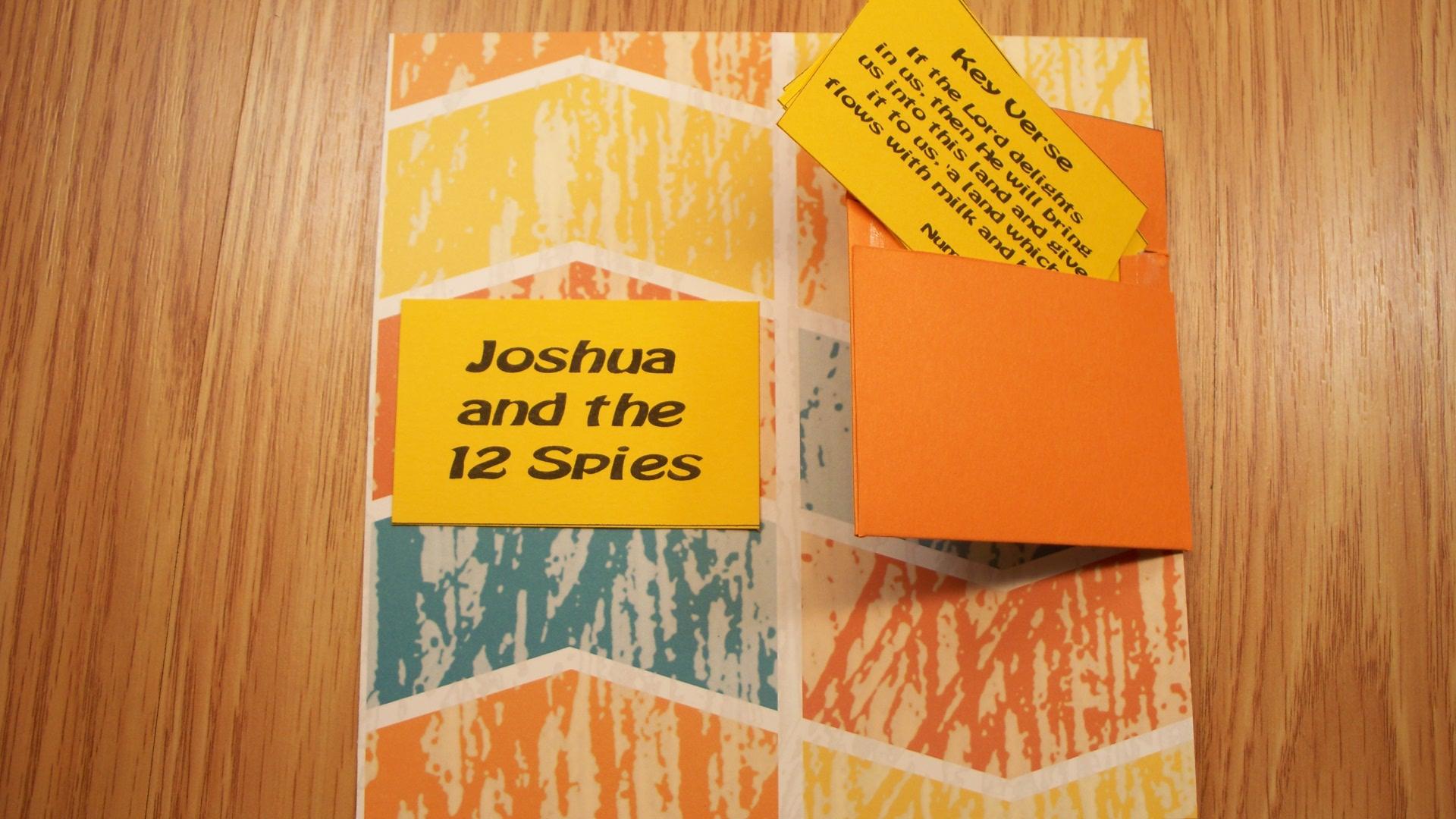 Joshua Bible Story / Joshua And The 12 Spies